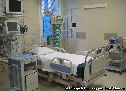 Приступ бронхиальной астмы. Лечение дома.